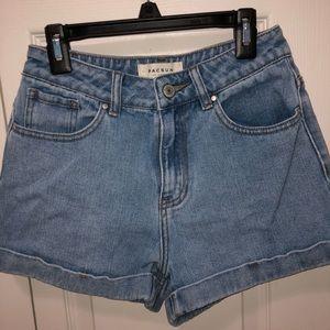 PacSun Denim Mom Shorts